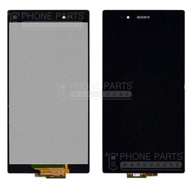 Picture of Xperia Z Complete Lcd with Digitizer in [Black] [Ori]