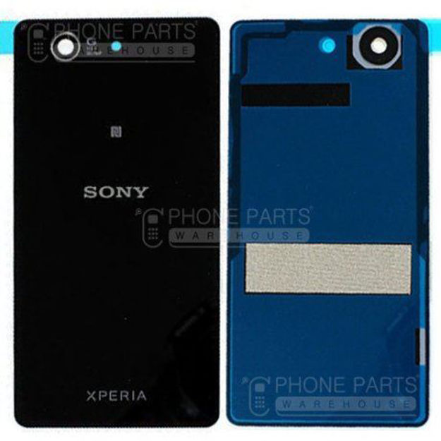 Picture of Xperia Z Battery Back Cover With Sticker [Black]