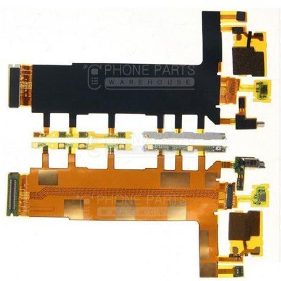 Picture of Xperia Z3 Power and volume flex cable