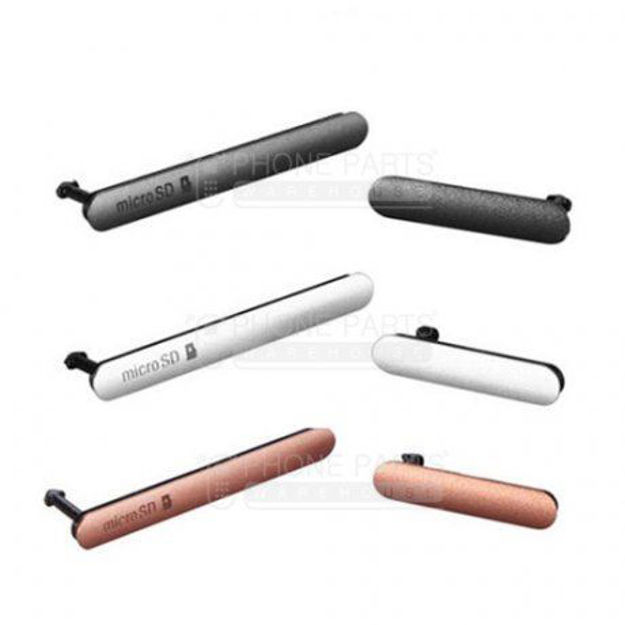 Picture of Xperia Z3 Waterproof Small Plug Set [Black]