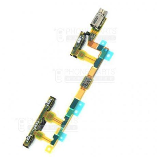 Picture of Xperia Z3 Compact Power and volume flex cable
