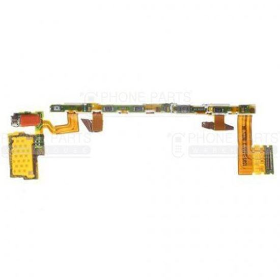 Picture of Xperia Z5 Power and Volume Flex Cable with Vibrator Motor