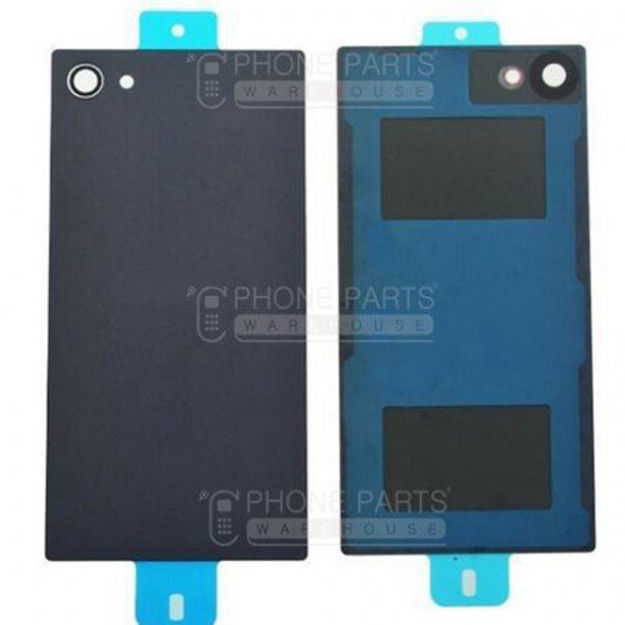 Picture of Xperia Z5 Compact Battery Back Cover With Sticker [Black]