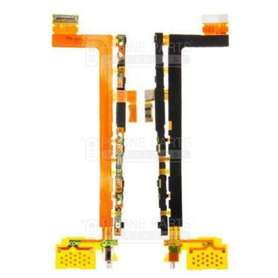 Picture of Xperia Z5 Pre. Power and Volume Flex Cable with Vibrator Motor