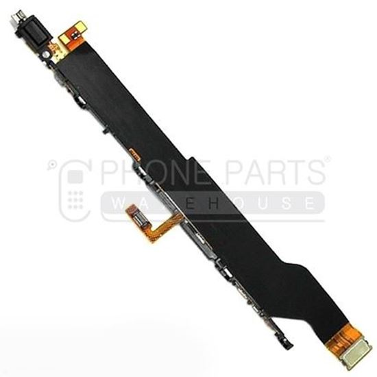 Picture of Xperia XZ1 Power and Volume Flex Cable with Vibrator Motor
