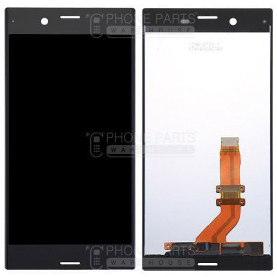 Picture of Xperia XZs Complete Lcd with Digitizer in [Black] [Ori]