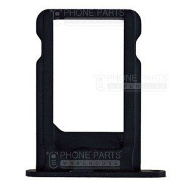 Picture of iPhone 5 Compatible Sim Card Holder Black