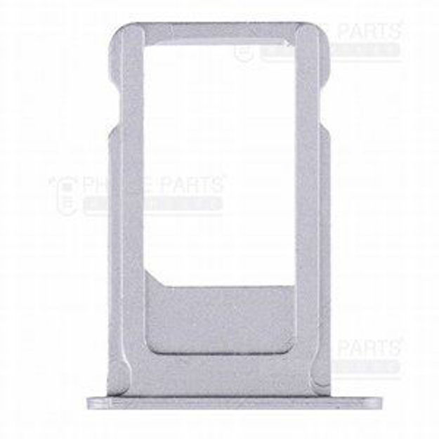 Picture of iPhone 5S Compatible Sim Card Holder Silver