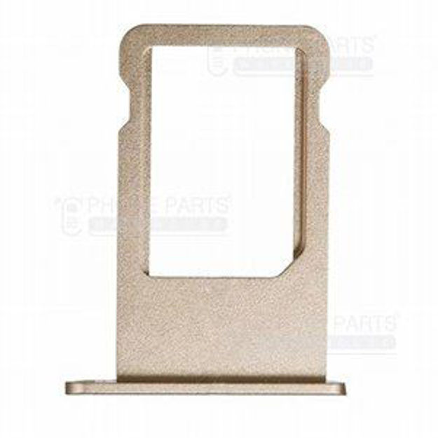 Picture of iPhone 5S Compatible Sim Card Holder Gold
