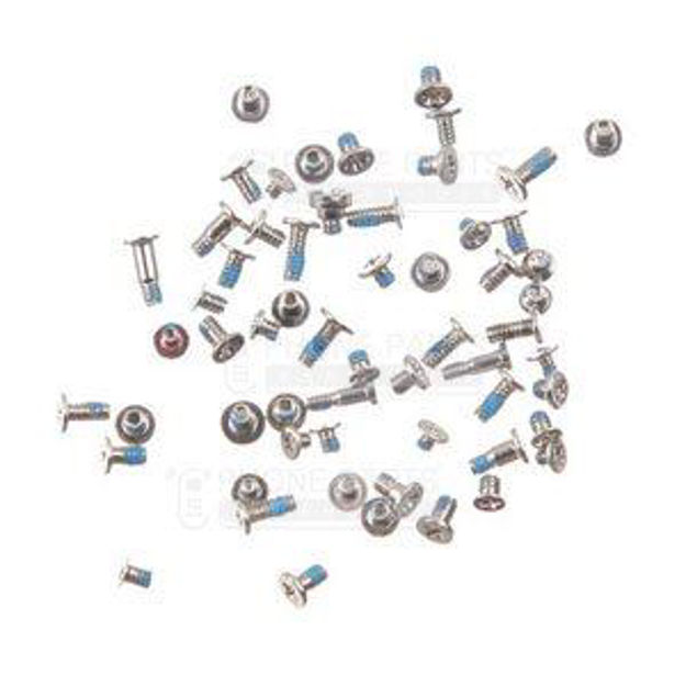 Picture of iPhone 6 Compatible Complete Screw Set [White]