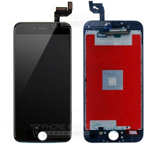 Picture of iPhone 6S Compatible LCD Screen Assembly with Touch and Frame [ESR Premium][Black]