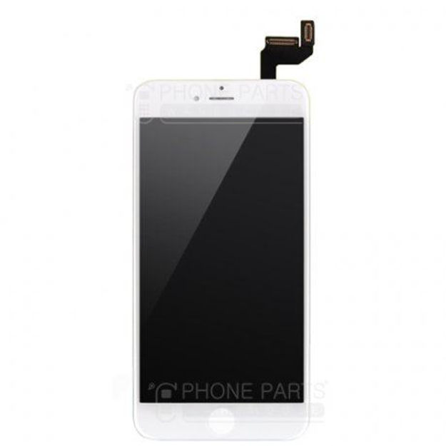 Picture of iPhone 6S Compatible LCD Screen Assembly with Touch and Frame [ESR Premium][White]