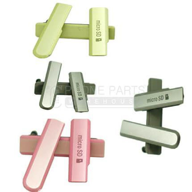 Picture of Xperia Z1 Compact Waterproof Small Plug Set [Pink]