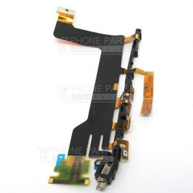 Picture of Xperia XZ Power and Volume Flex Cable with Vibrator Motor