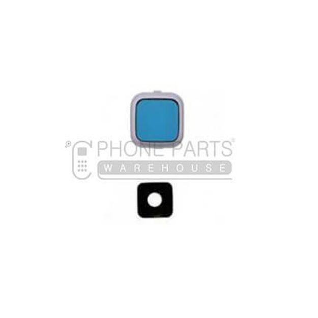 Picture of Galaxy S4 Camera Glass Lens With Cover [White]