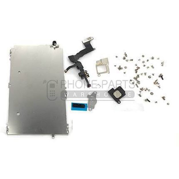 Picture of iPhone 5 Complete Orignal Spare Parts Set for LCD Screen Include Front Camera and Ear Speaker