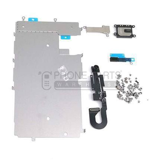 Picture of iPhone 7 Complete Orignal Spare Parts Set for LCD Screen Include Front Camera and Ear Speaker