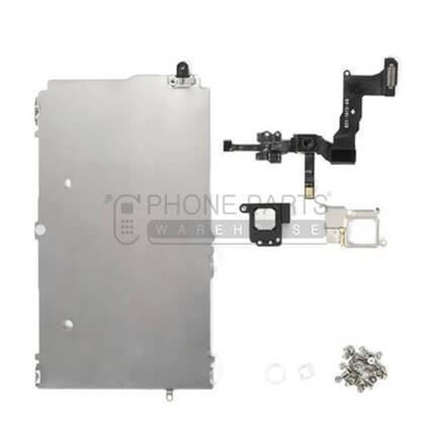 Picture of iPhone 5S Complete Original Spare Parts Set for LCD Screen Include Front Camera and Ear Speaker