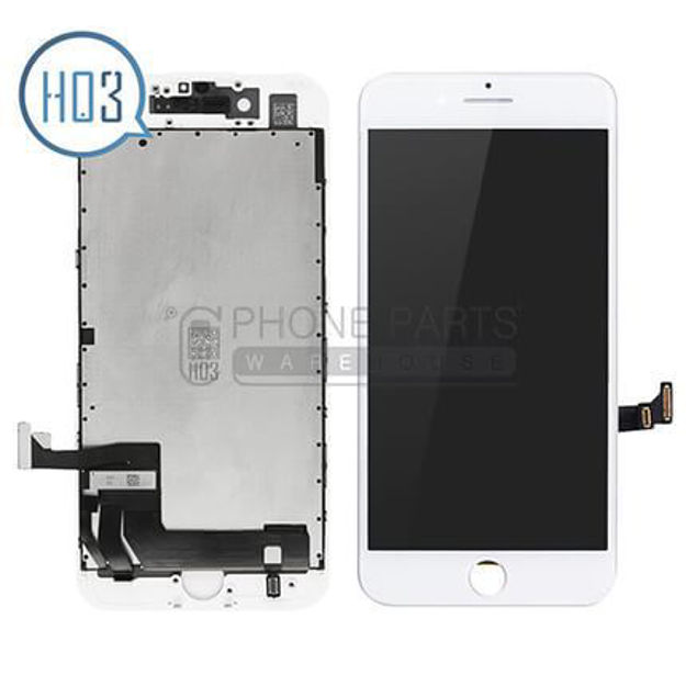 Picture of iPhone 8 Plus Lcd Screen Assembly With Touch and Frame[HO3] [White]