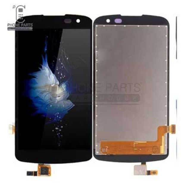 Picture of LG K4(K120E) Complete Lcd with Digitizer Assembly in [White]