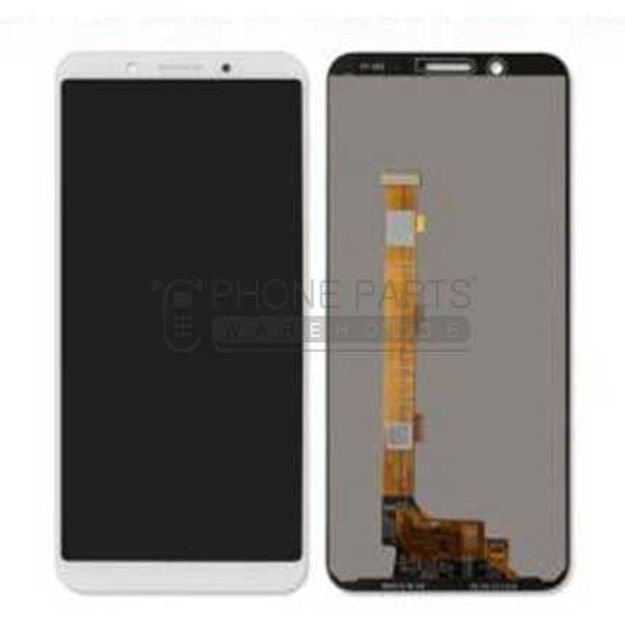 Picture of Oppo A7 / AX7 / A5s / AX5s Complete lcd with digitizer assembly in [White]