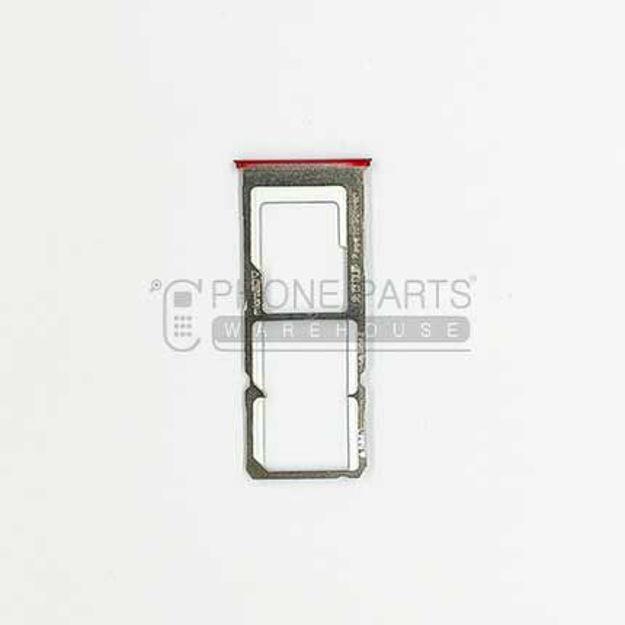 Picture of Oppo A73 / F5  Sim Card Holder [Red]