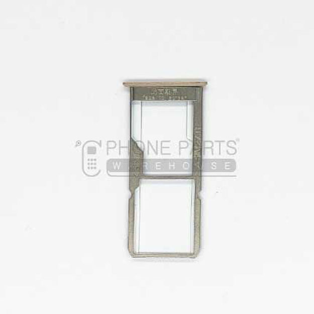 Picture of Oppo A37 Sim Card Holder [Gold]