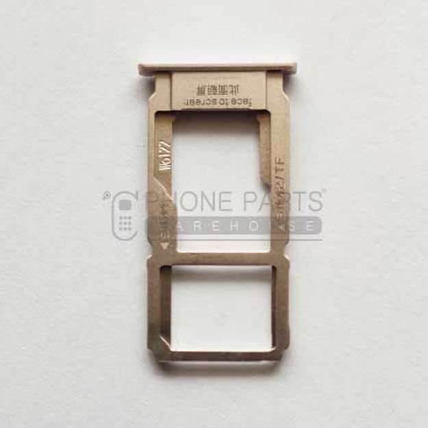 Picture of Oppo R9s Sim Card Holder [Gold]