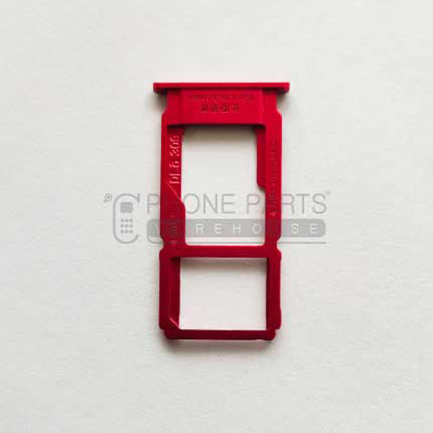 Picture of Oppo R11 Sim Card Holder [Red]