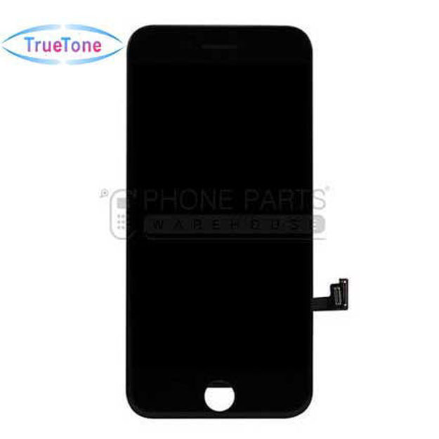 Picture of iPhone 8/SE 2020 Compatible LCD Screen Assembly with Touch and Frame [True Tone] [Black]