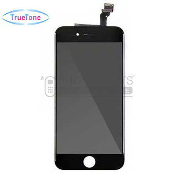 Picture of iPhone 6 Plus Compatible LCD Screen Assembly with Touch and Frame [True Tone] [Black]