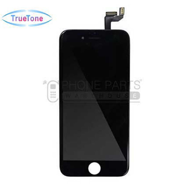 Picture of iPhone 6S Compatible LCD Screen Assembly with Touch and Frame [True Tone] [Black]