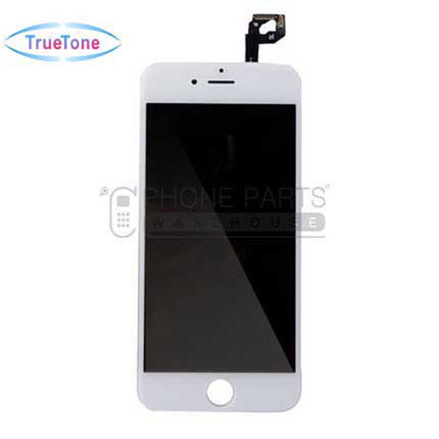 Picture of iPhone 6S Compatible LCD Screen Assembly with Touch and Frame [True Tone] [White]
