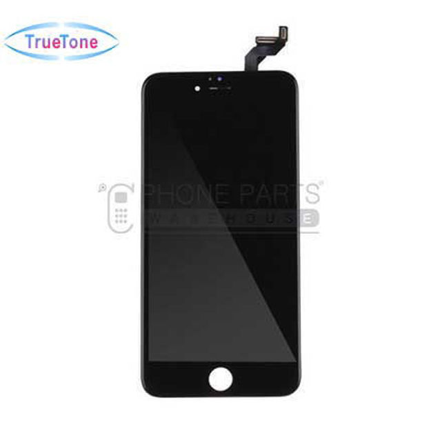 Picture of iPhone 6S Plus Compatible LCD Screen Assembly with Touch and Frame [True Tone] [Black]