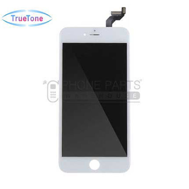 Picture of iPhone 6S Plus Compatible LCD Screen Assembly with Touch and Frame [True Tone] [White]