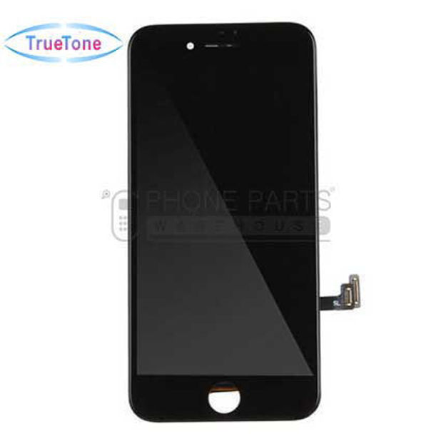 Picture of iPhone 7 Compatible LCD Screen Assembly with Touch and Frame [True Tone] [Black]