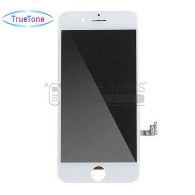 Picture of iPhone 7 Compatible LCD Screen Assembly with Touch and Frame [True Tone] [White]