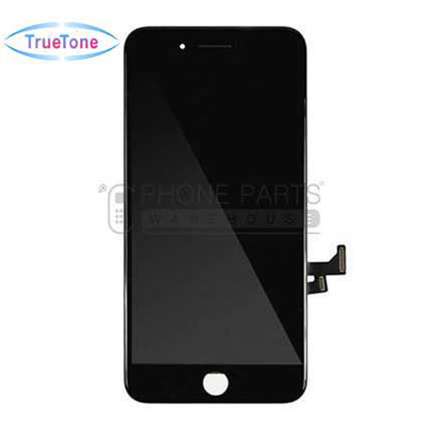 Picture of iPhone 7 Plus Compatible LCD Screen Assembly with Touch and Frame [True Tone] [Black]
