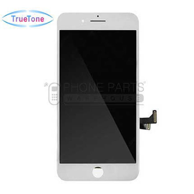 Picture of iPhone 7 Plus Compatible LCD Screen Assembly with Touch and Frame [True Tone] [White]