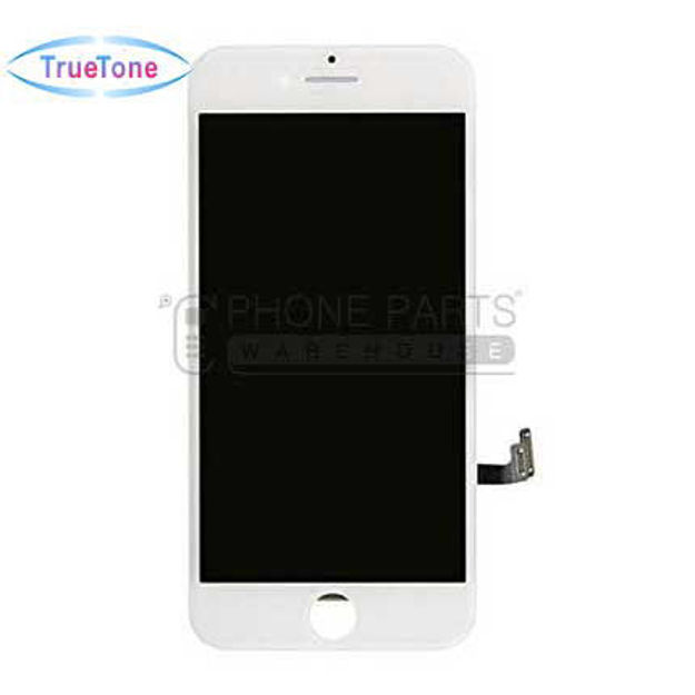Picture of iPhone 8/SE 2020 Compatible LCD Screen Assembly with Touch and Frame [True Tone] [White]