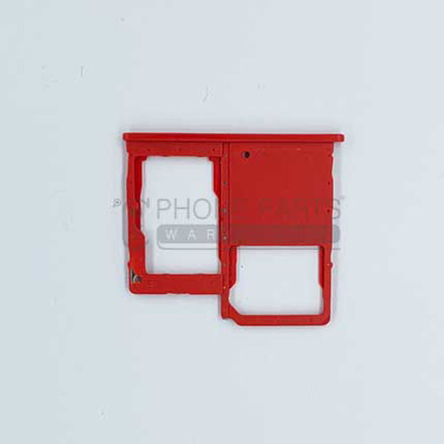 Picture of Galaxy A40 (A-405) Single Sim Card Holder [Red]