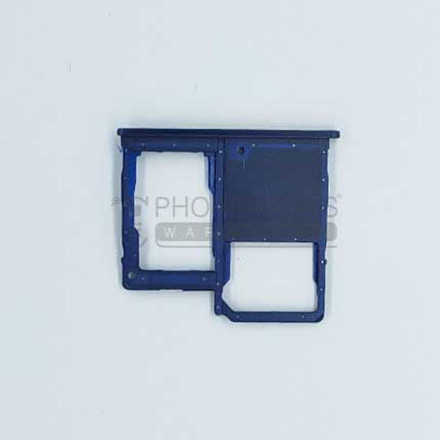 Picture of Galaxy A40 (A-405) Single Sim Card Holder [Black]