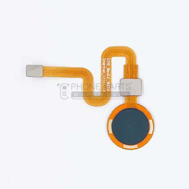 Picture of HTC One X10 Touch ID Home Button with Flex [Black]
