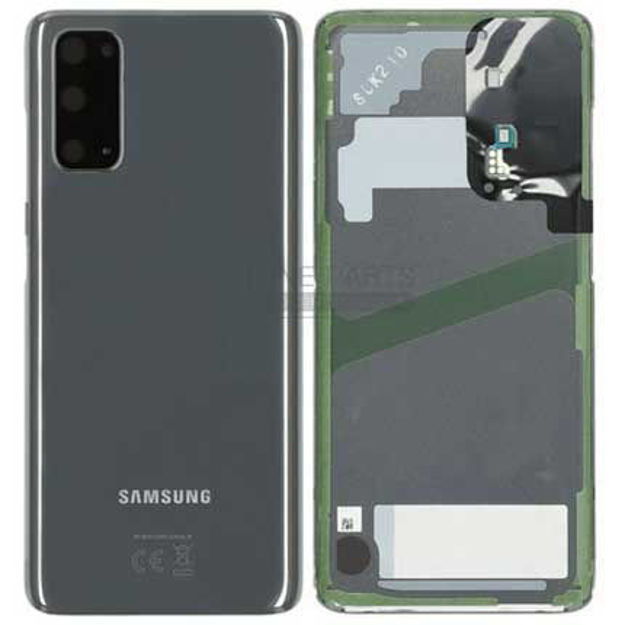 Picture of Galaxy S20 / S20 5G (SM-G980 / G981) Battery Back Cover [Grey]