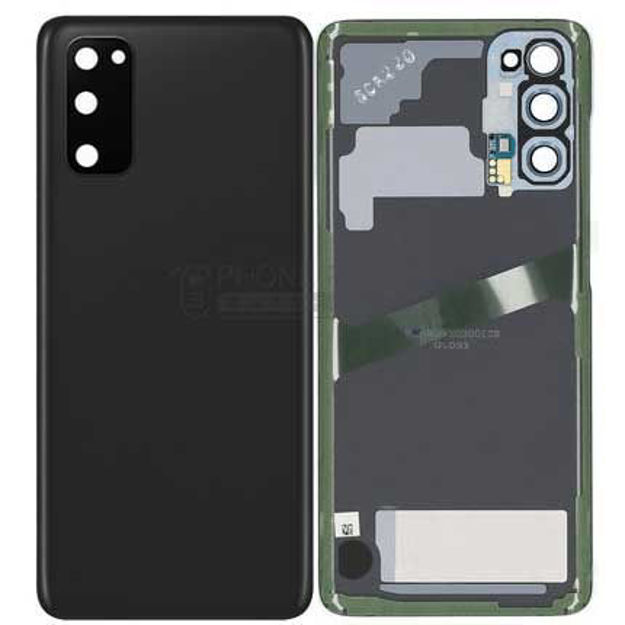 Picture of Galaxy S20 / S20 5G (SM-G980 / G981) Battery Back Cover [Black]