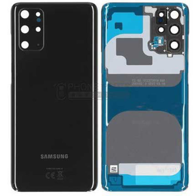 Picture of Galaxy S20 Plus / Galaxy S20 Plus 5G (SM-G985 / G986)  Battery Back Cover [Black]