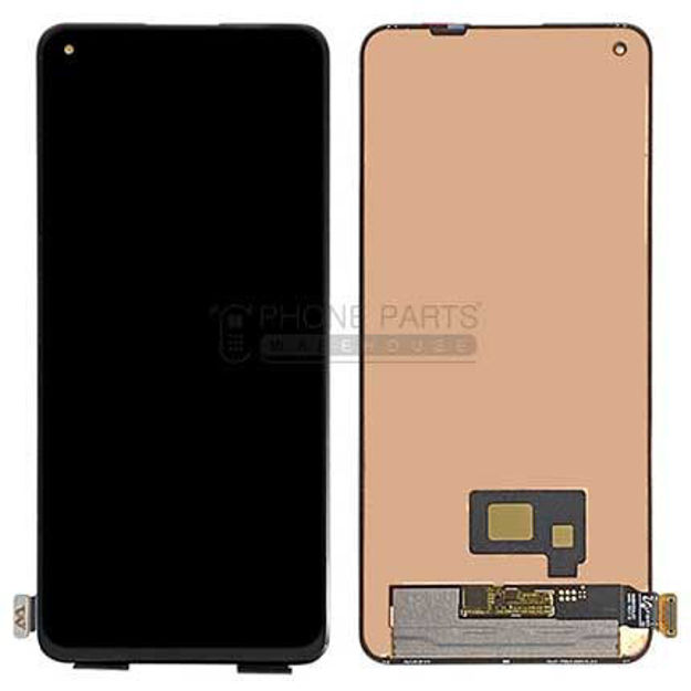Picture of One Plus 8T Complete Lcd with Digitizer Assembly in [Black] [ORG]