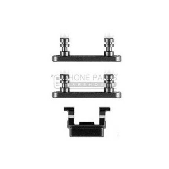 Picture of iPhone 7 Plus Compatible 3 Piece Button Set [Jet Black]