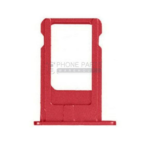 Picture of iPhone 7 Compatible Sim Card Tray [Red]