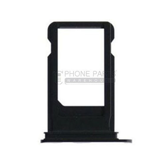 Picture of iPhone 7 Compatible Sim Card Tray Jet [Black]